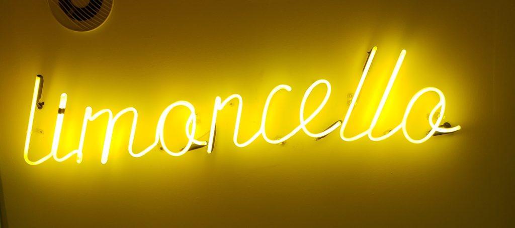 limoncello neon